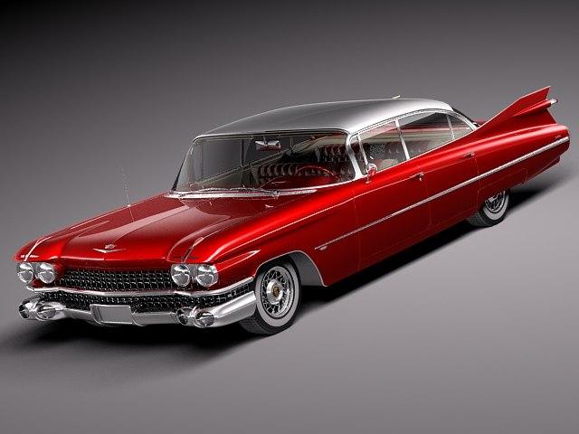 Stl Finder 3d Models For 1959 Cadillac Deville Rar