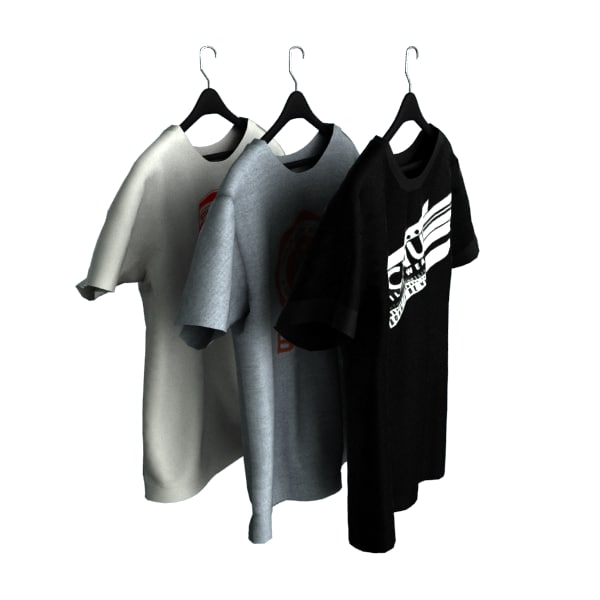 T-shirt on Hanger_vray_01.png