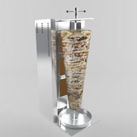 kebab 3D models