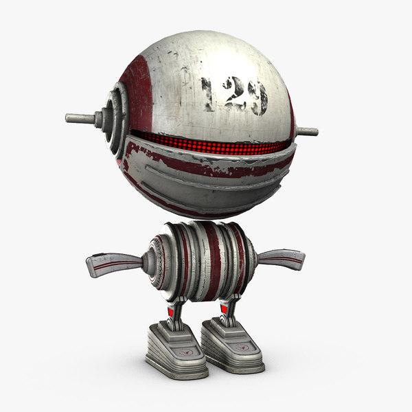 Robo Baby 3D Models