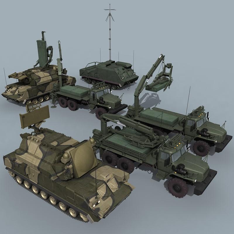 SA-15/Tor-M2 battery