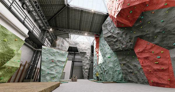 Climbing Wall 3D Models