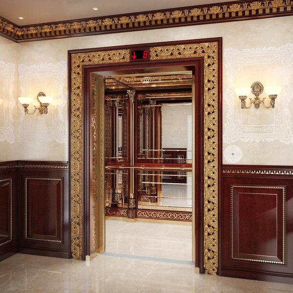 Classic mirror elevator 3D Models
