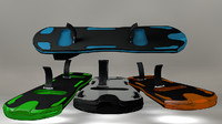 hoverboard 3D models