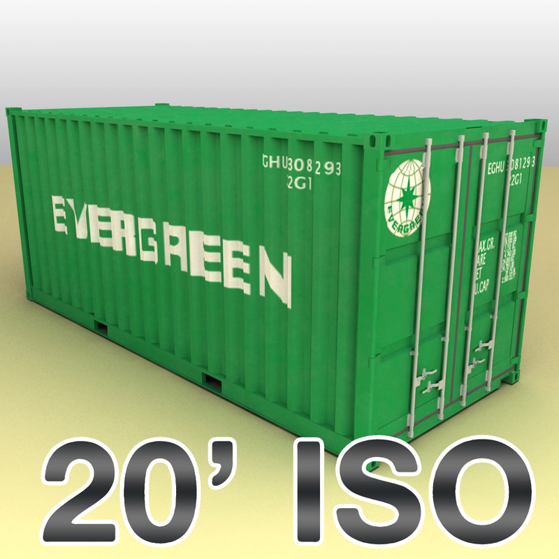 ISO shipping container 20 feet