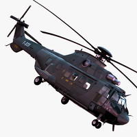 Eurocopter AS532 3D models