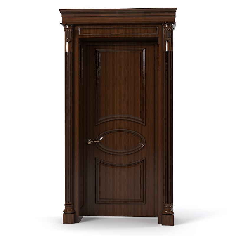 Classic internal room door ovale decorarion traditional  0001.jpg