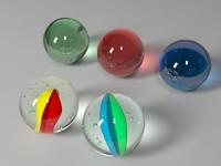 Marbles 3D models