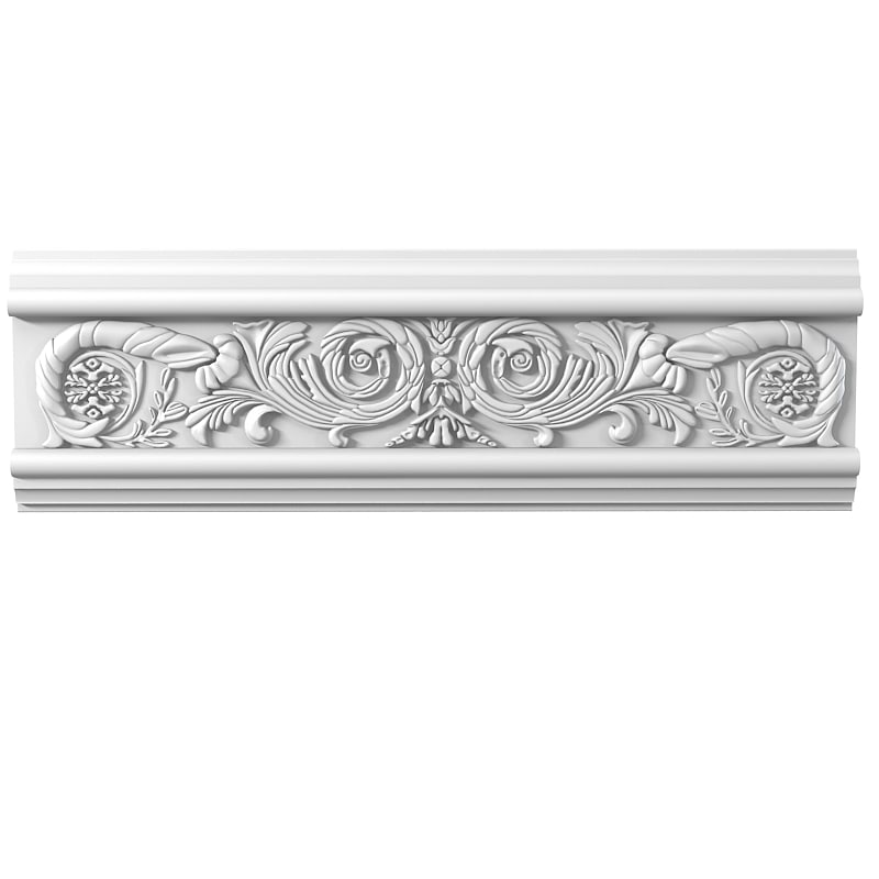 Peterhof F30  classic  carved ceiling cornice baroque element decoration cartouche classical petergof f 30 0001.jpg