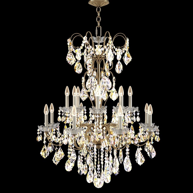 Schonbek new orleans 3659  classic crystal chandelier swarowski glass lamp candle candelabra 0001.jpg