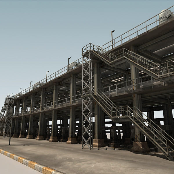 Refinery Part 09 3D Models