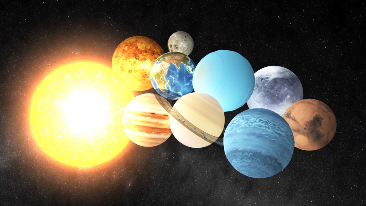 sun and planets 3d - photo #49