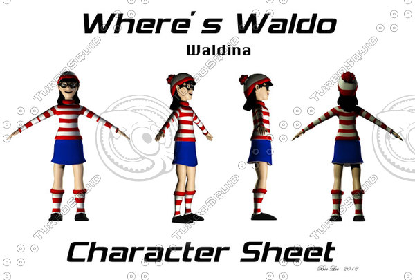 find average price for waldo 3d models is $ 69 buying royalty free 3d