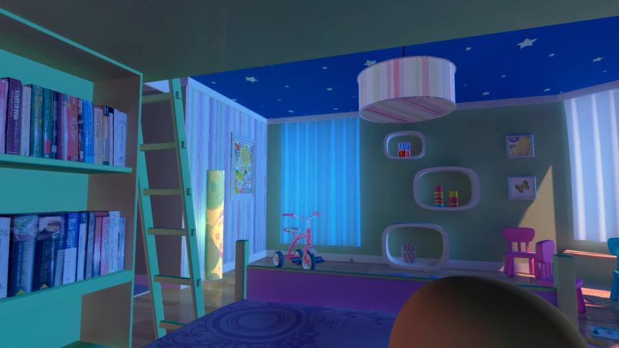 Cartoon Baby Room