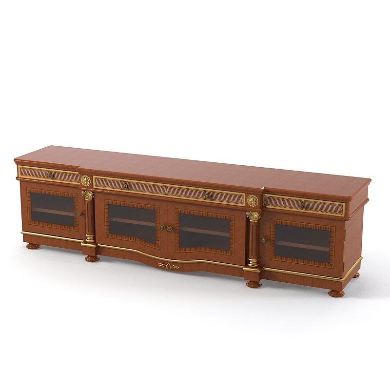 Carpenter Viktoriol 5577-331 Classic Sideboard commode cabinet tv stand carved empire0001.jpg