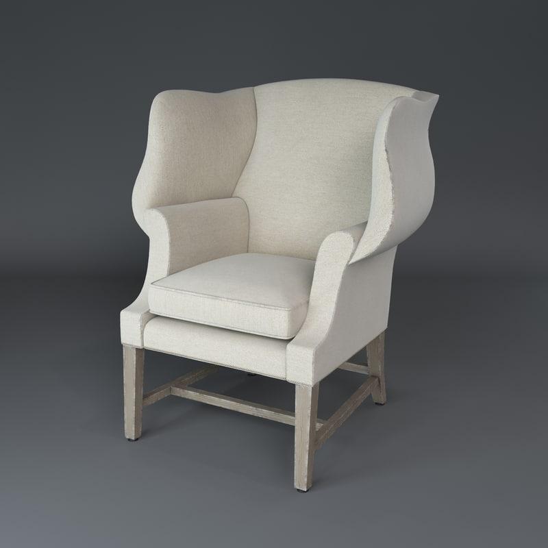 1920's Georgian Chair