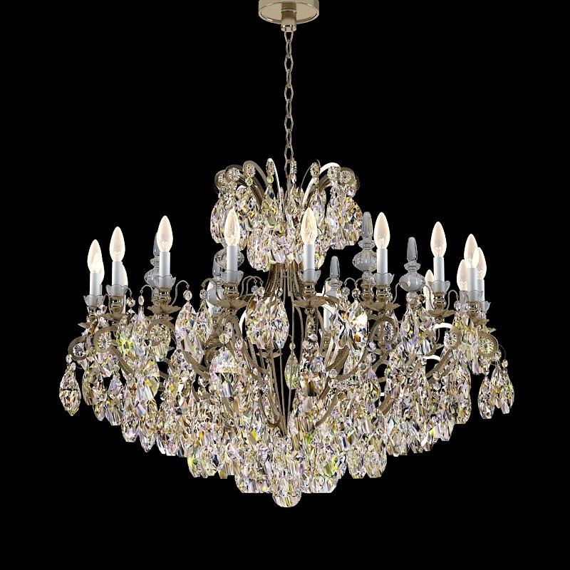 Schonbek 3792 crystal swarowski classic chandelier