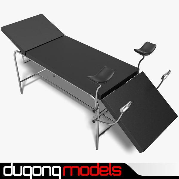 Exam Table 01 3D Models