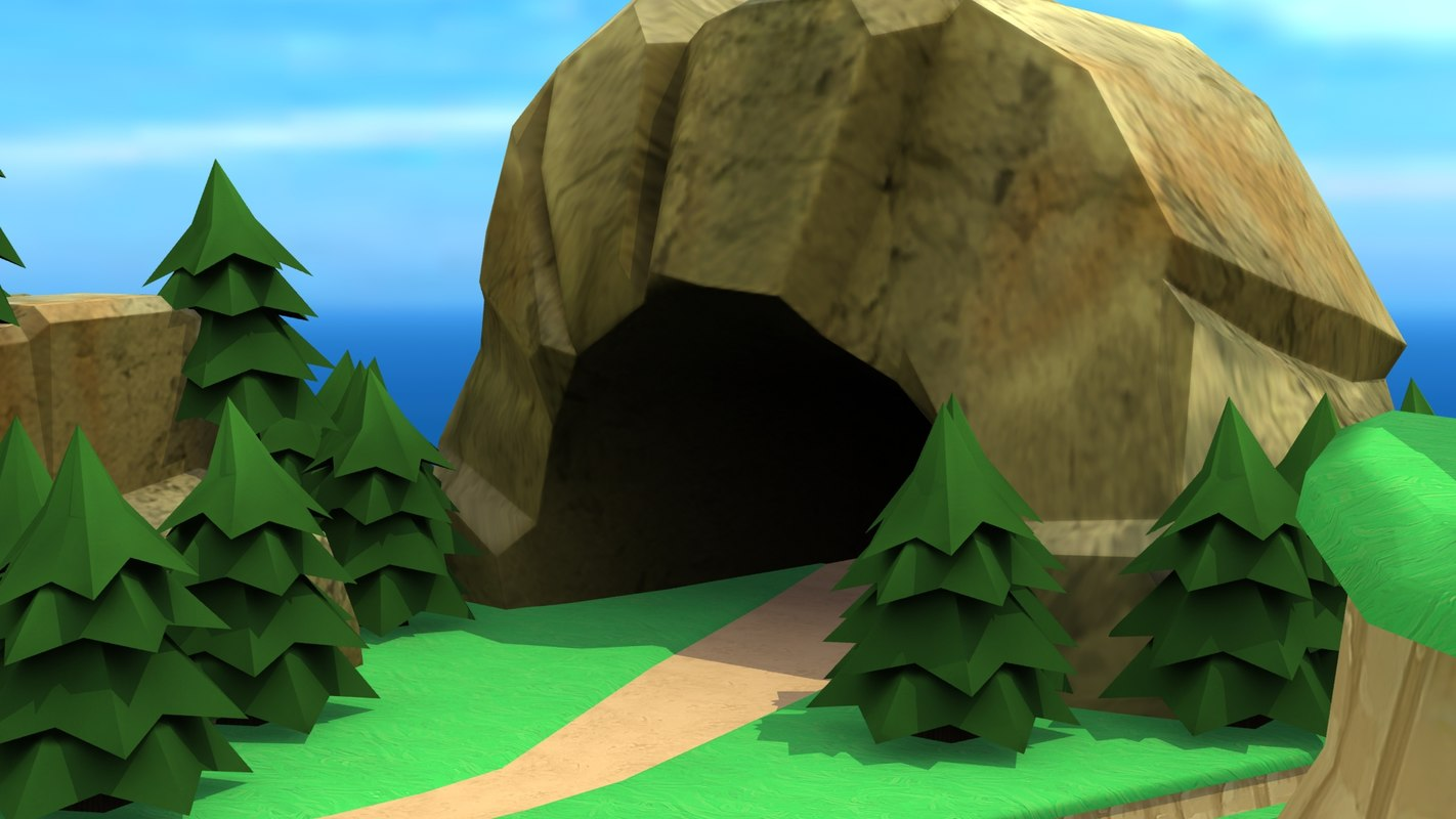 stone cave 3d 3ds giant squid clipart giant squid clipart