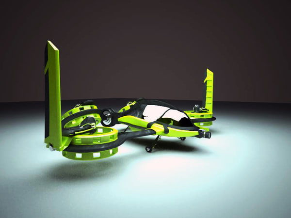 HeliDrone 3D Models
