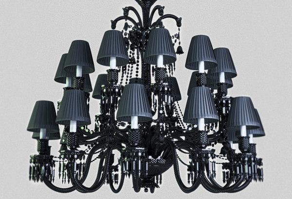 Baccarat Zenith Chandelier 3D Models