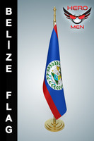 Belize Flag 3D models