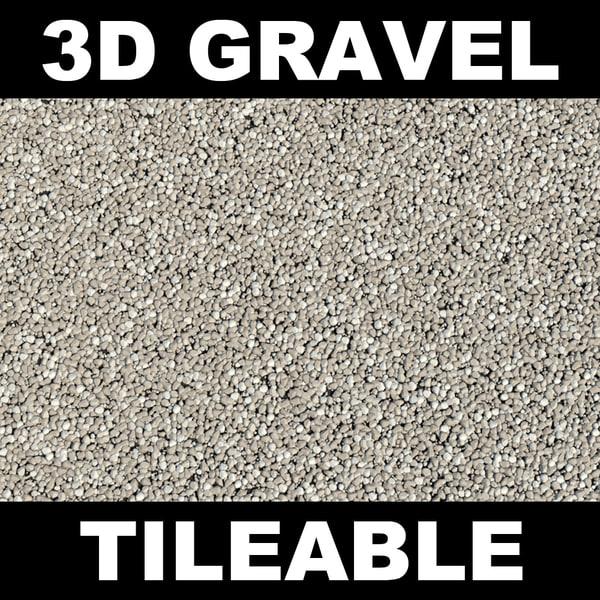 Gravel Texture Maps