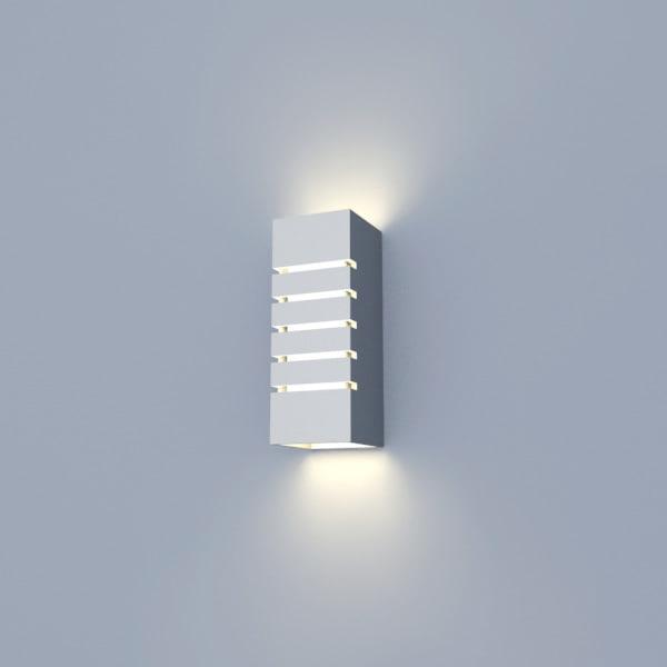 Wall Lights Models : 3d model interior wall lamp light