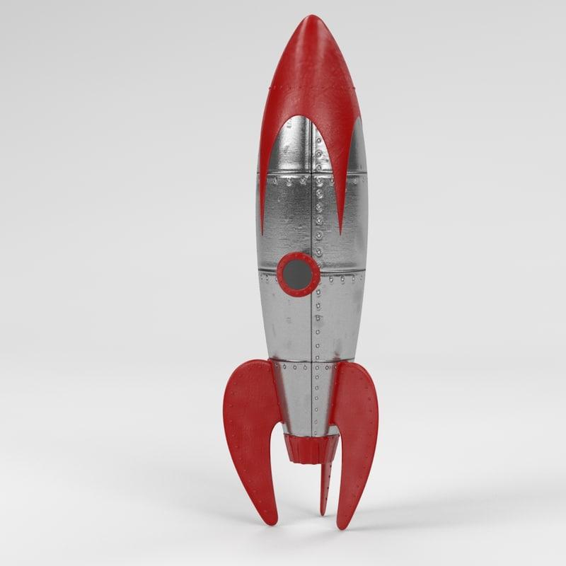 Vintage Model Rocket 121
