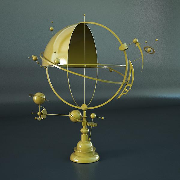 Solar System Orrery 3d model free.jpg