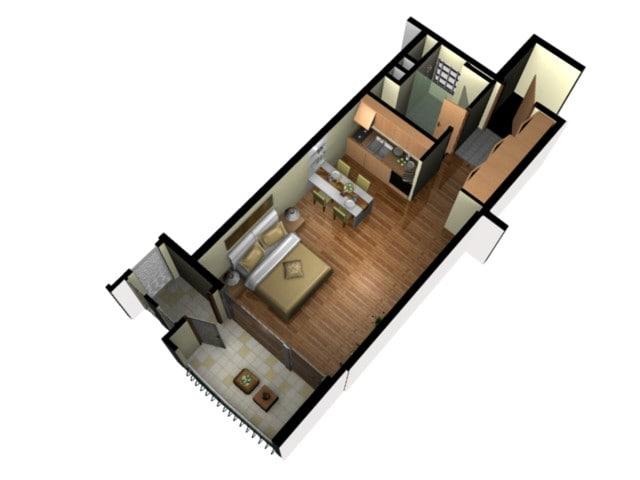 3d Model Floor Plan Doll House