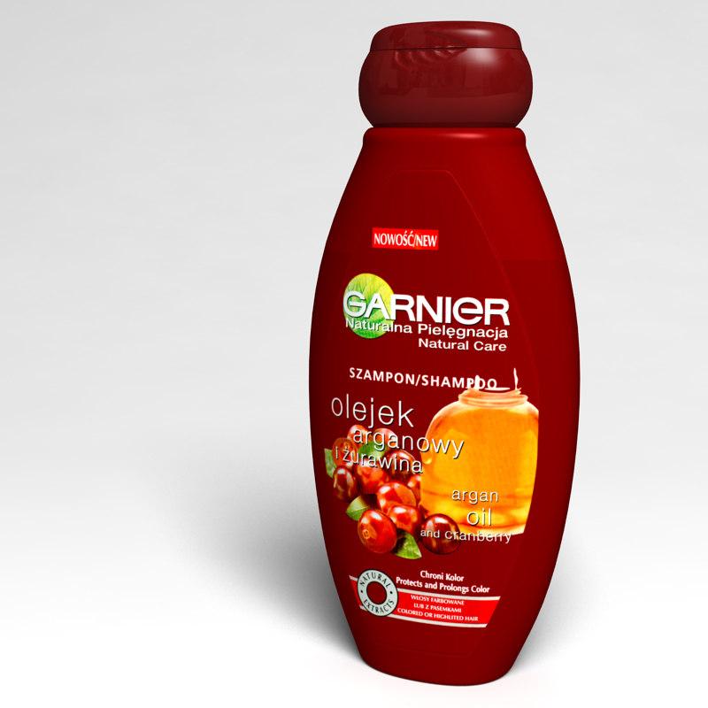 shampoo bottle 3d model
