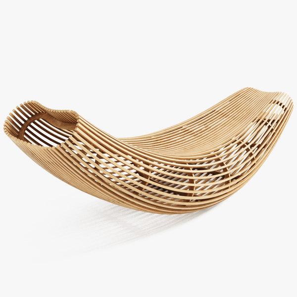 Cappellini Body Raft 3D Models