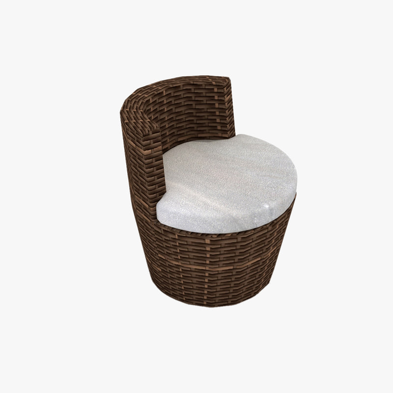 Ringo Circular Rattan Chair · Http://preview.turbosquid.com/Preview/2014/07/