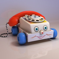Toy Phone 3D models