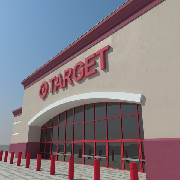 Target Market 3D Models