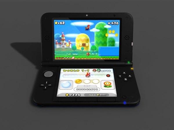 Nintendo 3DS XL \ LL Video Game System 3D Models