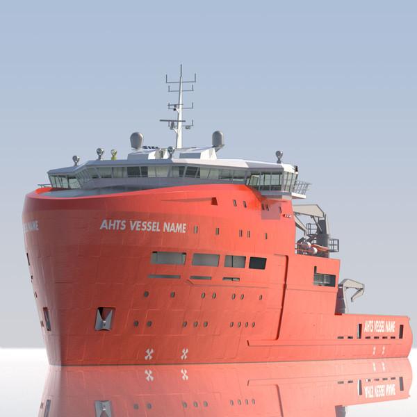Anchor Handling Tug Supply 3D Models