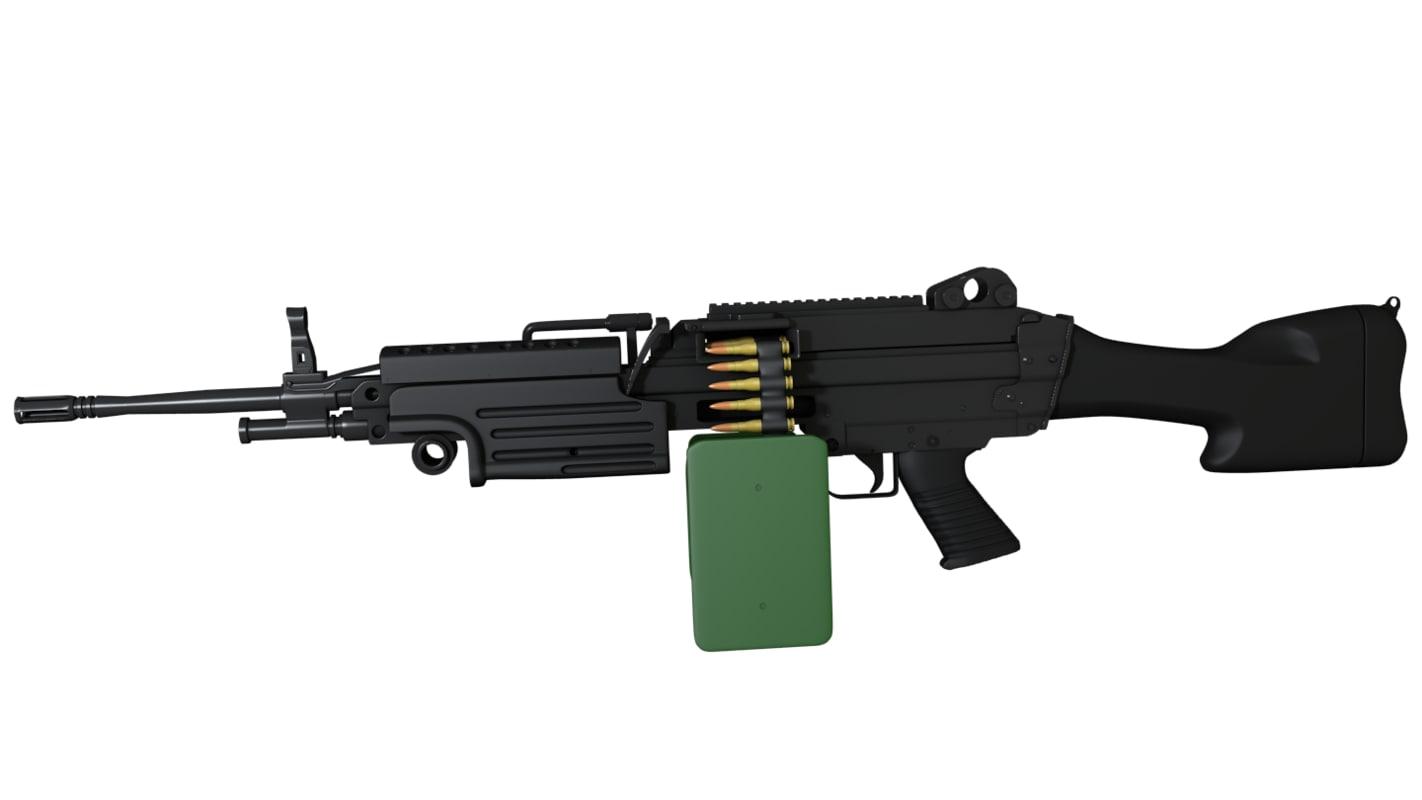 Maya Fn M249 Saw