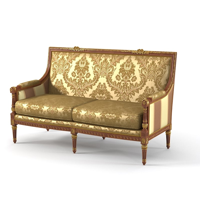 Armando Rho B 425 Two Seater Sofa B425 classic empire style luxury baroque 001.jpg