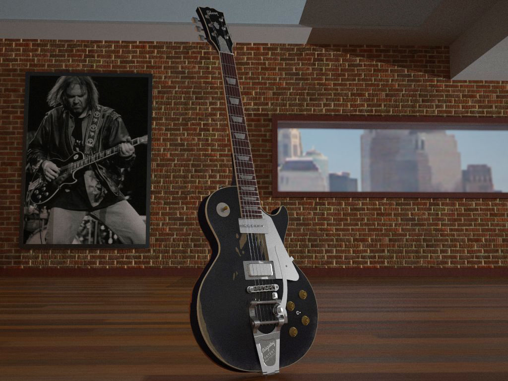 """Gibson Les Paul """"Old black"""""""