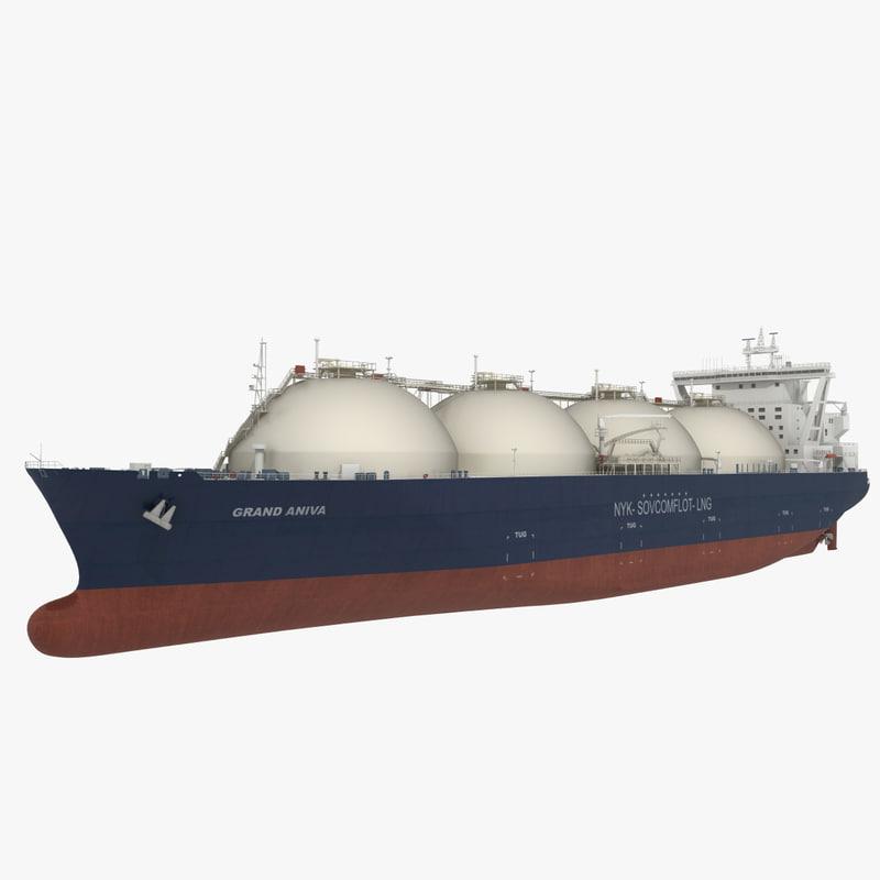 LNG Tanker Grand Aniva