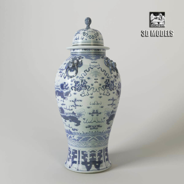 Eichholtz vase peninsula 3D Models
