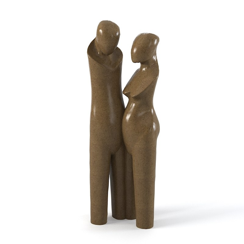 Christopher guy The Lovers  64-0277  Sculpture statue man women modern art contemporary tall big0001.jpg