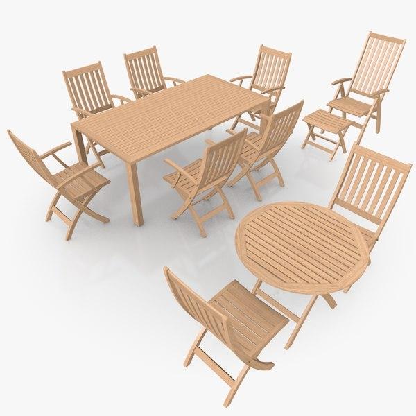 Foldable Furniture Scene