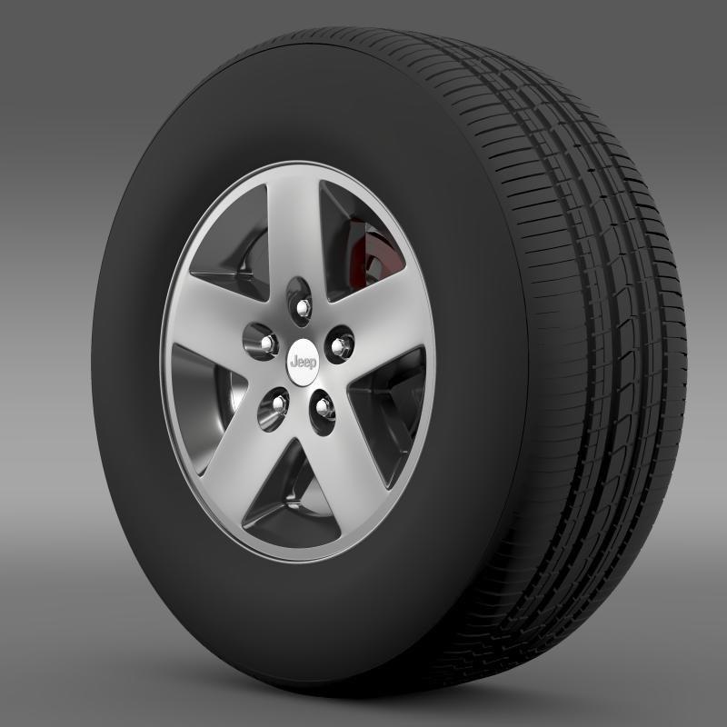 Jeep Wrangler Rubicon wheel