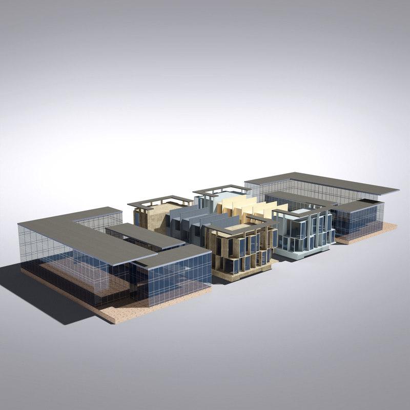 Modern Generic Building 033