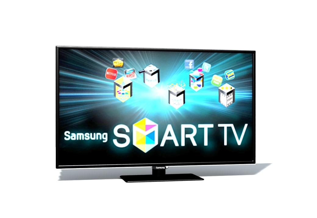 samsung smart tv 3d model. Black Bedroom Furniture Sets. Home Design Ideas