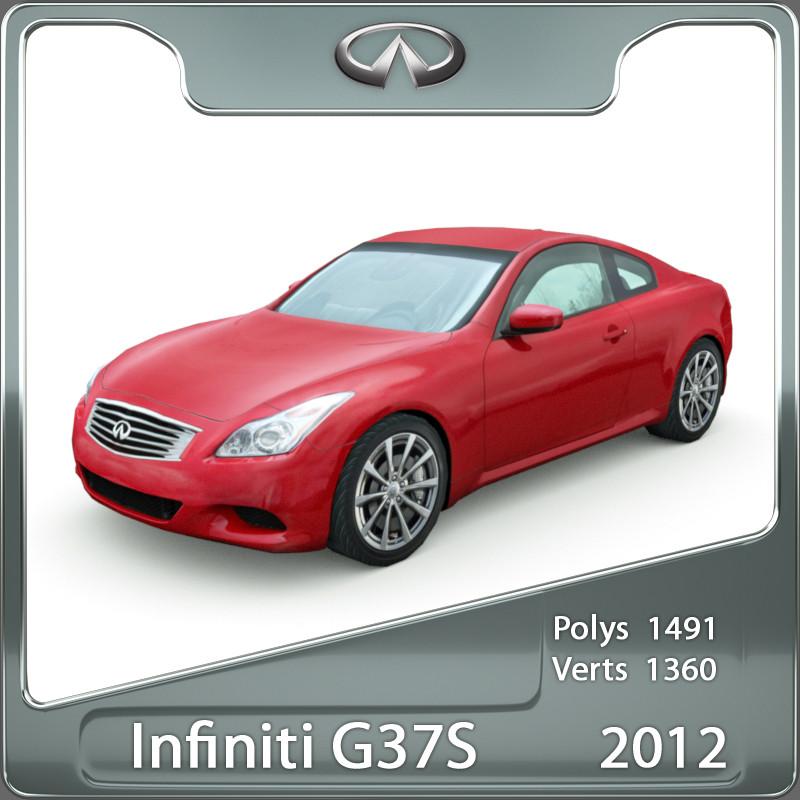 Infiniti G37S Coupe 2012