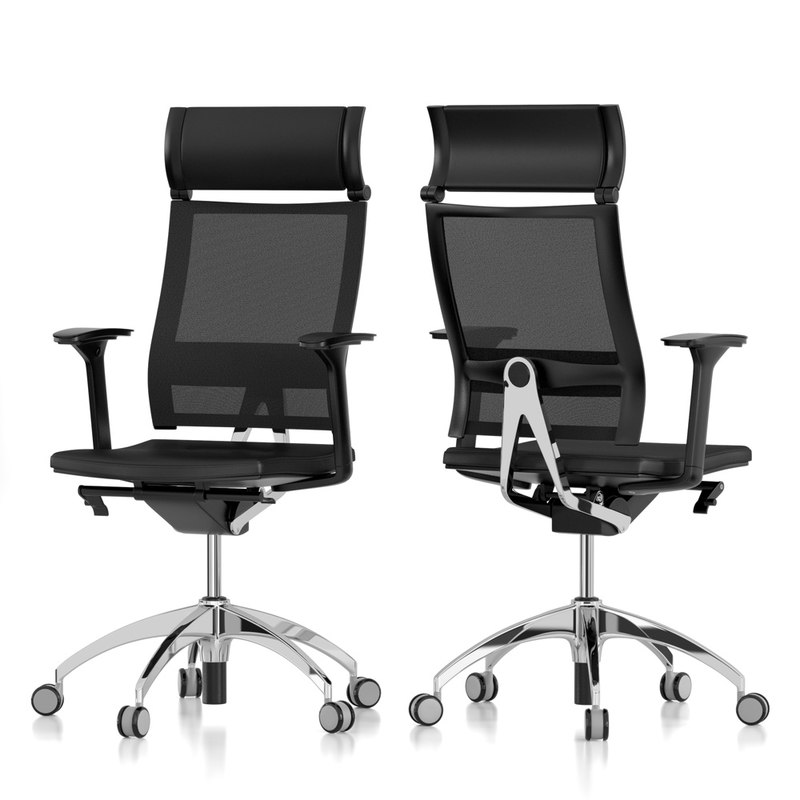 3ds max office chair for Chair design 3ds max